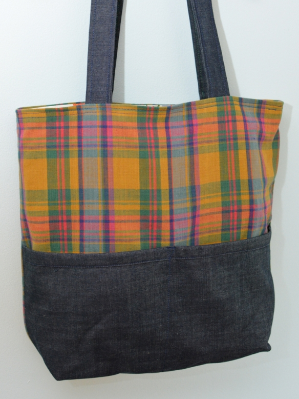 madras tote : lizzieville 1