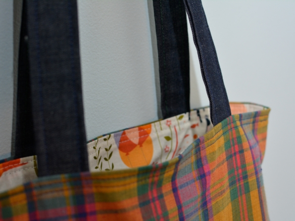 madras tote : lizzieville 4